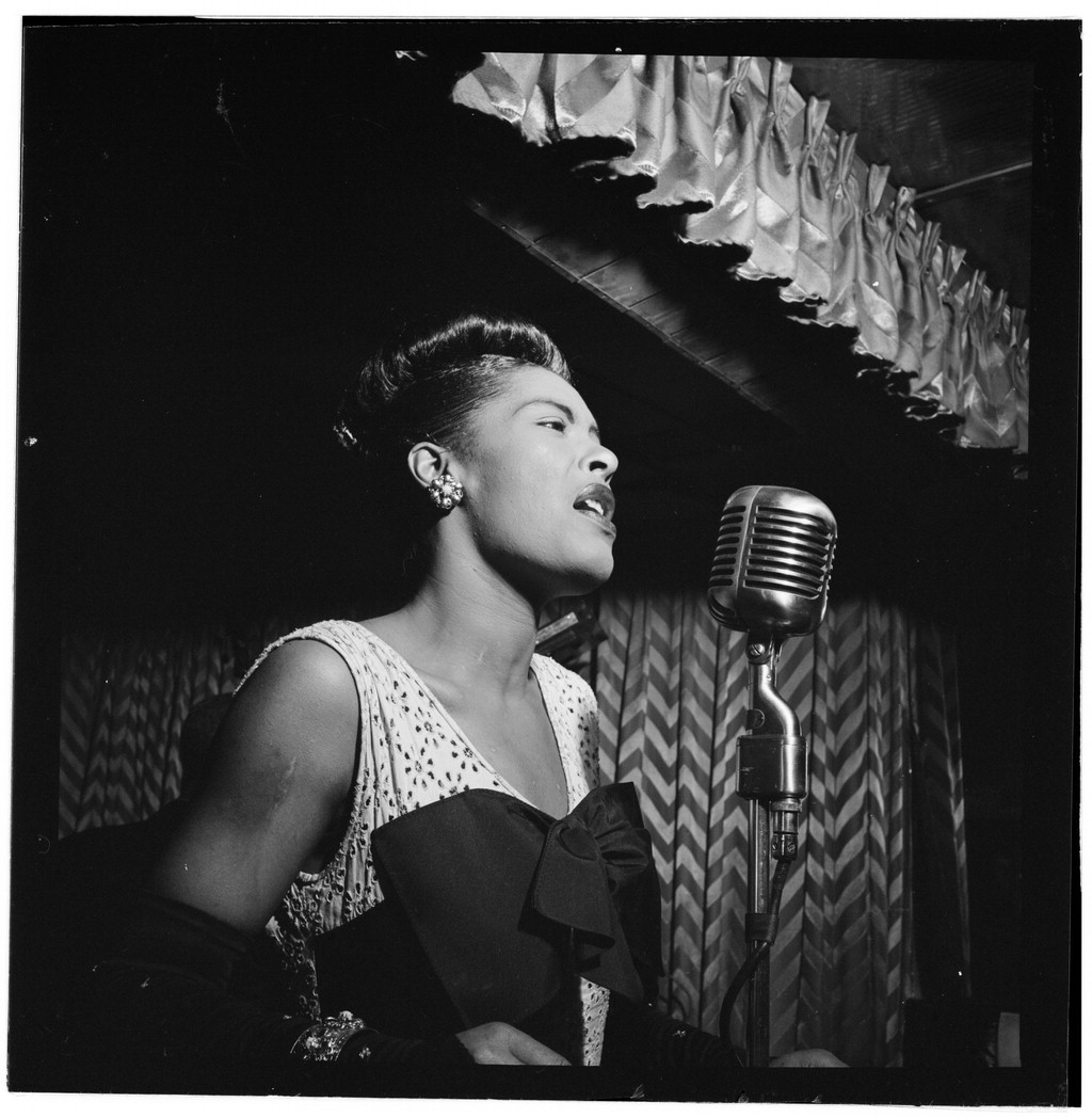 Image of singer Billie Holliday