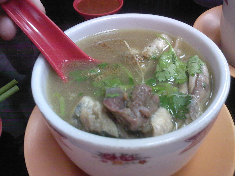 Chinese turtle soup in Singapore. Image credit: Chensiyuan, CC-BY-SA 2.5