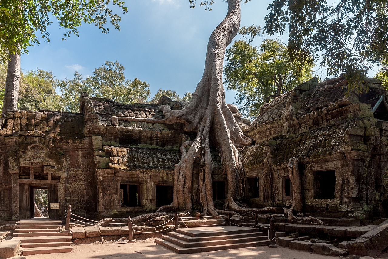 Tha Prom Temple at Angkor, Siem Reap, Cambodia. Image credit: CEphoto, Uwe Aranas, Creative Commons BY-SA 3.0