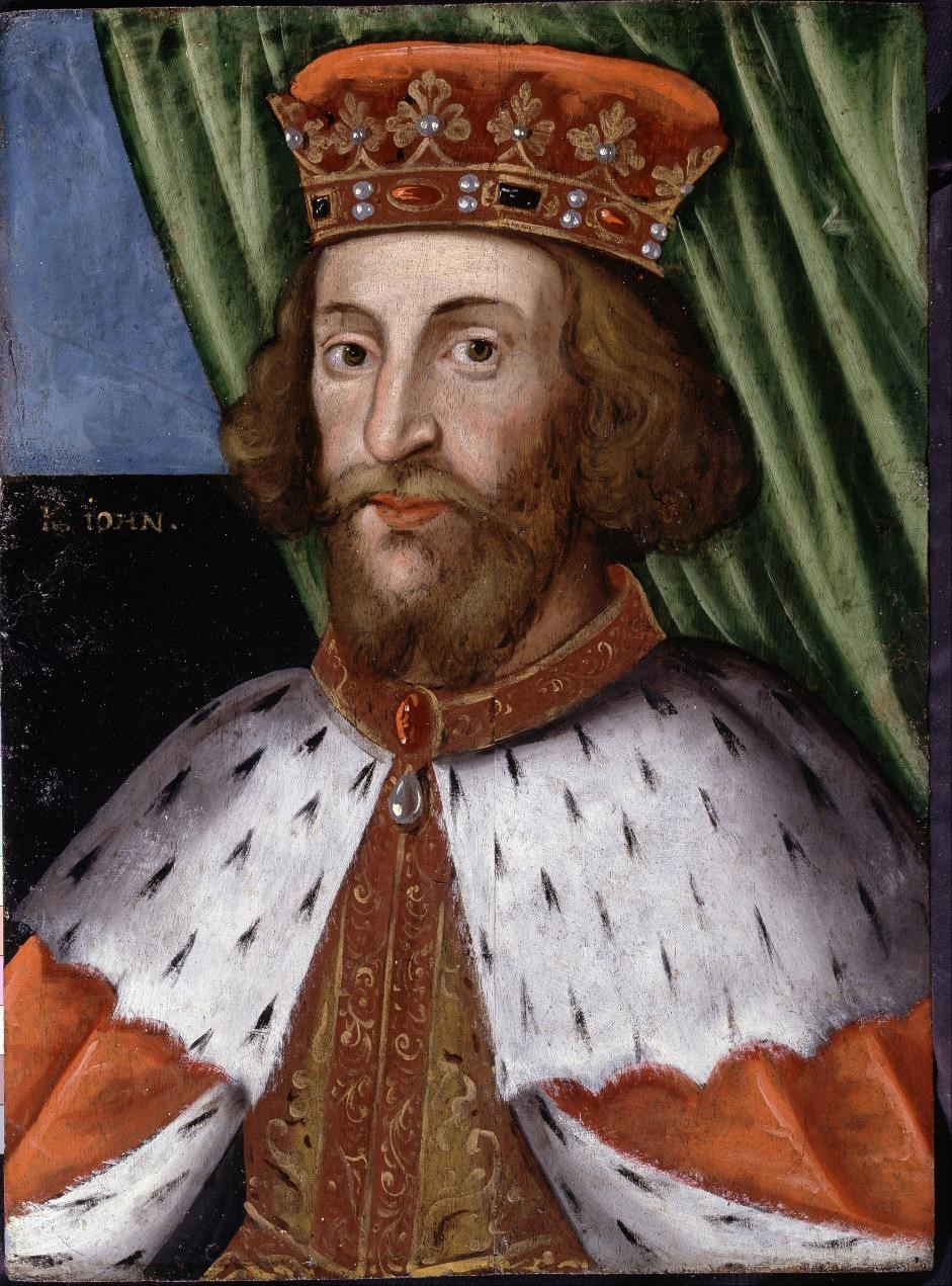 Portrait of King John of England