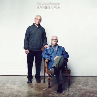 "Album cover for ""Same Love"" by Macklemore"