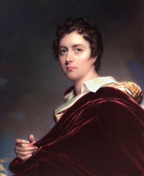 Portrait of Lord Byron by Henry Pierce Bone