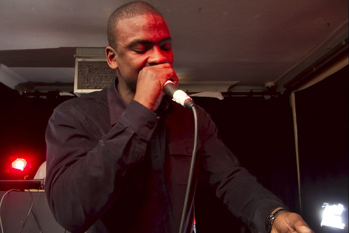 Grime artist Skepta, whose winning the Mercury Prize over David Bowie was another step in grime's march toward the mainstream. Blue37, CC BY-SA