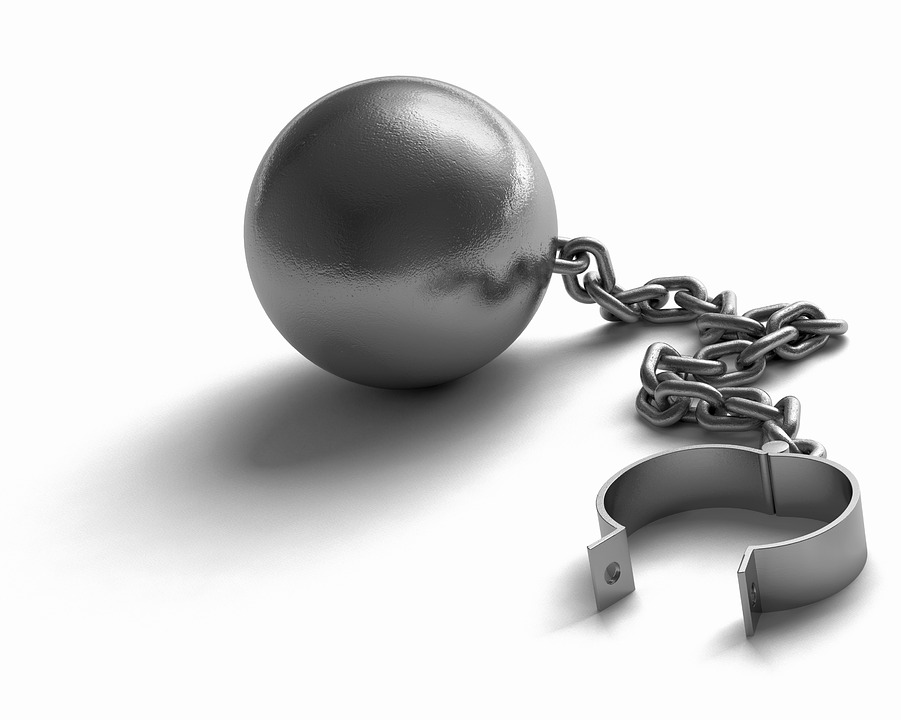 A ball and chain